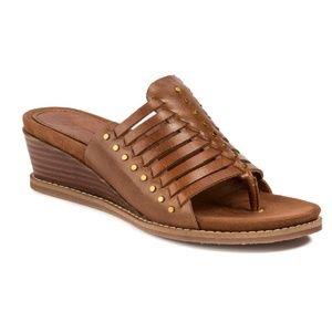 Latigo Anthropology Winnie Wedge Heel Sandals 7.5